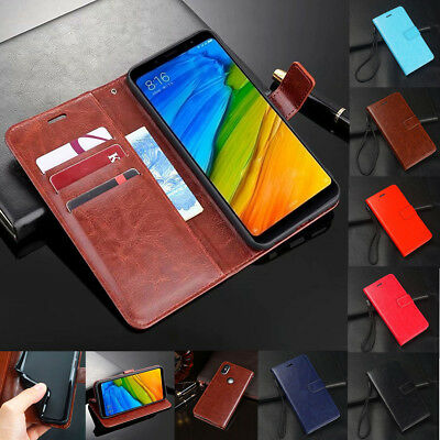 AU7.07 • Buy For Xiaomi Redmi Note 8 7 6 5 Pro Shockproof Magnetic Wallet Leather Case Cover