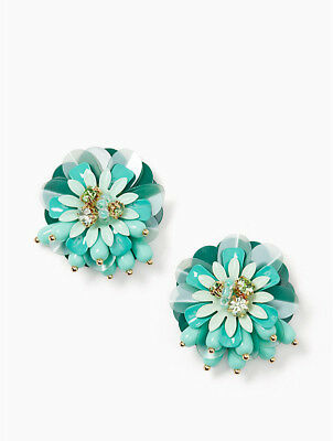 $ CDN75.18 • Buy Kate Spade New York Vibrant Life Light Mint Multi Green Statement Stud Earrings