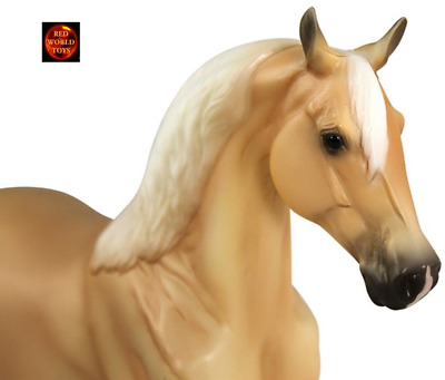 Breyer Horse Toy Model Classic Scale Palomino Morgan Horse Brand New • 22£