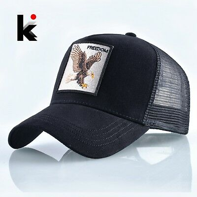Fashion Animals Embroidery Baseball Caps Men Women Snapback Hip Hop Summer Hat • 10.77£