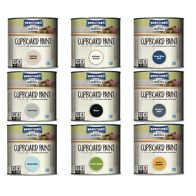 Johnstone's Revive Cupboard Paint 750ml Transform Melamine & MDF Kitchen Cabinet • 13.99£
