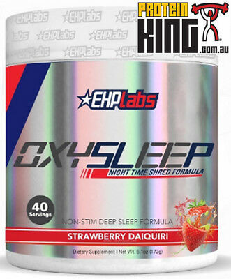 AU81.95 • Buy Ehp Labs Oxysleep 40 Serve Strawberry Night Time Shred  Oxy Sleep Support