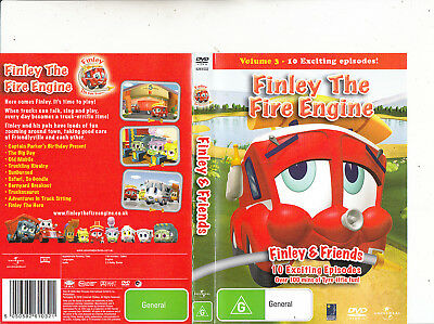 £15.84 • Buy Finley The Fire Engine-2006-[10 Episodes]-Animated FTFE-DVD