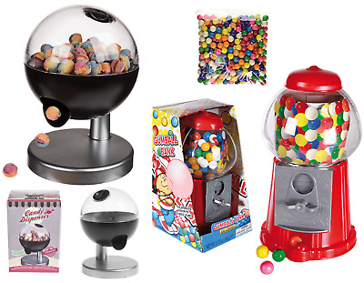 Kids Sweet Dispenser Gumball Machine & Touch Sensor Bubble Gum Candy Dispenser • 14.99£
