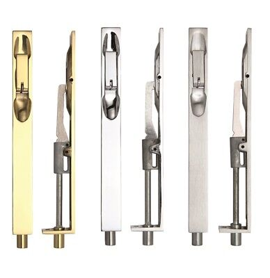 Zoo Hardware FB03 Lever Action Flush Bolt 200mm X 20mm Various Finishes • 10.39£