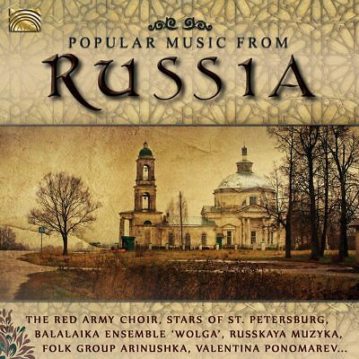 £8.48 • Buy RED ARMY CHOIR THE & STARS OF ST.PETERSBURG - Popular Music From Russia