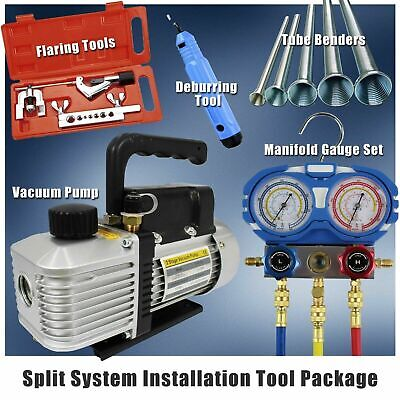 AU389 • Buy Split System Airconditioner Installation Tool Package - Refrigeration HVAC Combo