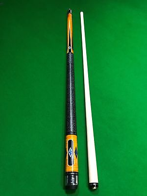 AU450 • Buy POWERGLIDE Pearl 9Ball Canadian Maple Pool Cue