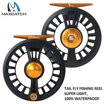 $ CDN54.51 • Buy Maxcatch Tail Fly Fishing Reel 3/4 5/6 7/8wt Large Arbor Waterproof Light Weight