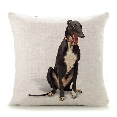 Greyhound Gifts Cushion Cover Shopping Tote Bag Collectables Gift Whippet  • 7.99£