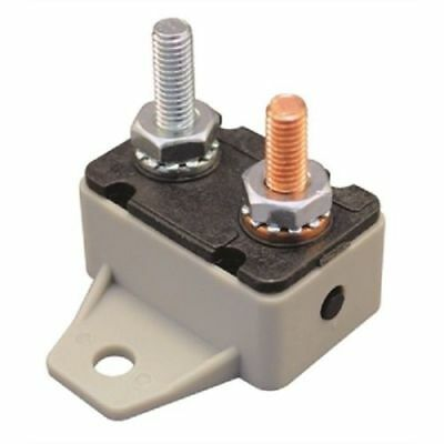 BOAT MARINE  Electrical Resettable Inline Circuit Breaker 50 Amp 12 Volt 71175 • 6.29£