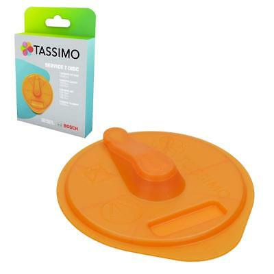 GENUINE Bosch Tassimo Orange Cleaning Service T Disc 17001491 Old Part No 576837 • 5.95£