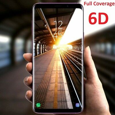 AU7.95 • Buy 6D Samsung Galaxy S21+ Note S20 S10 5G 9 8 Ultra Tempered Glass Screen Protector