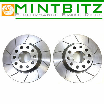 GROOVED BRAKE DISCS REAR SIERRA RS COSWORTH 4WD 4x4 • 74.99£