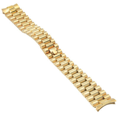$ CDN63.05 • Buy 20mm President Watch Band For Rolex Watch Day Date 18038 18039 18238 18239 Gold