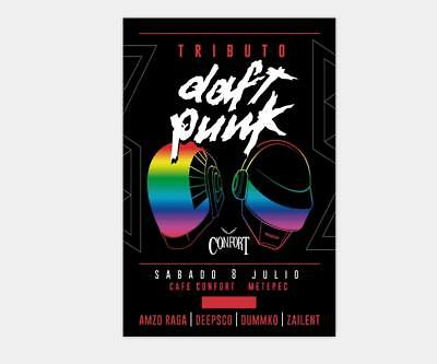 Hot Fabric Poster Daft Punk The Weeknd Starboy 36x24 30x20 40x27inch Z1281