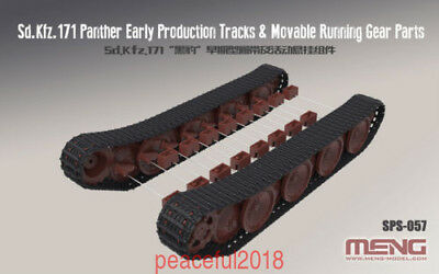$26.88 • Buy Meng 1/35 Model SPS-057 German Panther Early Tracks & Movable Running Gear Parts