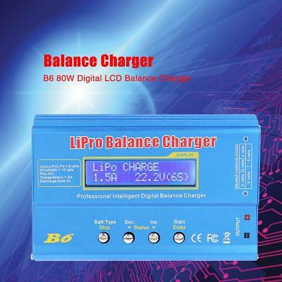 AU35.47 • Buy IMAX B6 LCD Screen Digital RC Lipo NiMh Battery Balance Charger + AC Adapter HQ
