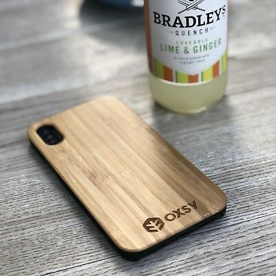 IPhone Xs / IPhone 10s Wooden Bamboo Case | OXSY • 13.50£