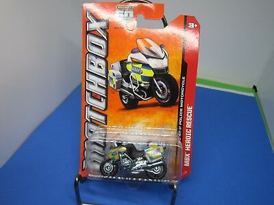 $2.72 • Buy 2013 Matchbox #114 BMW R1200 RT-P Military Police Motorcycle