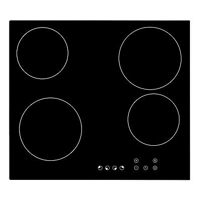 Cookology TCH601 60cm Ceramic Hob In Black, Built-in Worktop & Touch Controls • 119.99£
