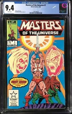 $174.99 • Buy Masters Of The Universe #1 (1986) CGC 9.4 He-Man Skeletor MOTU