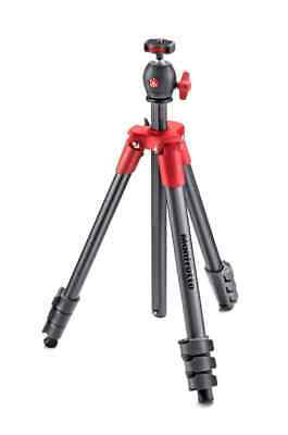 AU82.95 • Buy Manfrotto Compact Light Tripod -  Red  -   MKCOMPACTLT-RD  -  Limited Stock A...