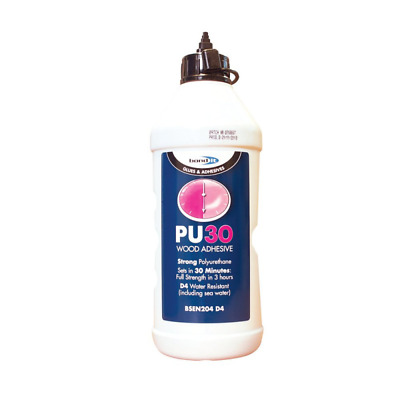 Bond It PU D4 30 Minute Rapid Waterproof Solvent Free Wood Glue Adhesive 750ml  • 9.49£