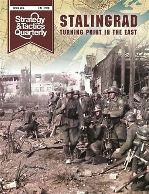 Decision Games Strategy And Tactics Quartely 3 Stalingrad Includes Map Poster • 17.99$