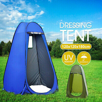 AU30.99 • Buy New Portable Pop Up Outdoor Camping Shower Tent Toilet With CarryBag Ozstock