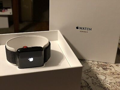 $ CDN528.44 • Buy Apple Watch Series 3 42mm Space Black Stainless Steel Case With Space Black...