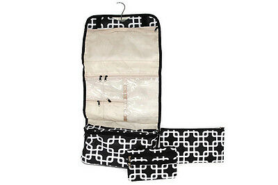 £16.23 • Buy Travel Cosmetic Bag Set Of 3 - White Link