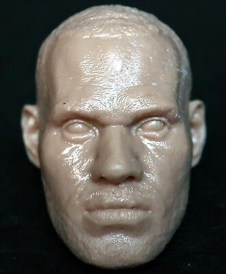 $8.80 • Buy 1/6 Scale Unpainted Action Figure Head Sculpt Lebron James Nba Enterbay Dx