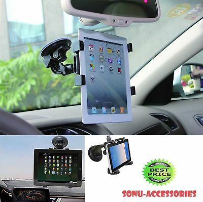360° Rotation Windscreen Car Suction Mount Holder For 6  To 11  Tablets & IPads • 9.99£