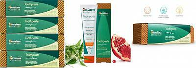 Himalaya Neem And Pomegranate Toothpaste, Natural, Fluoride-Free, SLS... • 18.43£