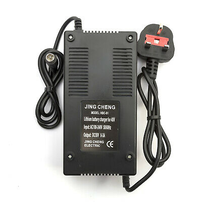 48v Lithium Battery Charger 0-3Amp Electric Bicycle Bike 10Amp - 15Amp UK Plug • 12.75£