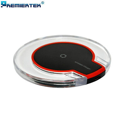 $ CDN5.79 • Buy Qi Wireless Charger Pad Charging Dock Station For IPhone XS Max X XR Galaxy S10