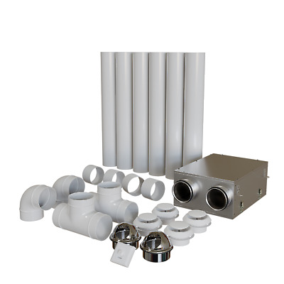 £387.63 • Buy Blauberg Whole House Heat Recovery Ventilation System Kit Condensation Control