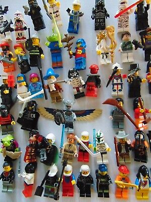 £14.99 • Buy 10 X Lego Minifigures  All With Accessories Mini Figures Star Wars Etc