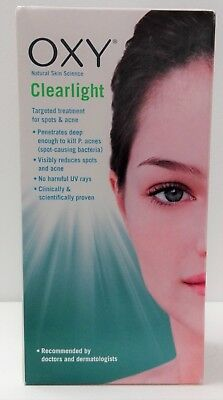 £59.99 • Buy OXY CLEARLIGHT Targeted Treatment For Spots & Acne Unit FACTORY SEALED