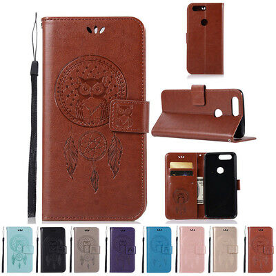 AU6.48 • Buy For OnePlus 5T Card Holder Wallet Leather Case Flip Cover Stand Phone Case