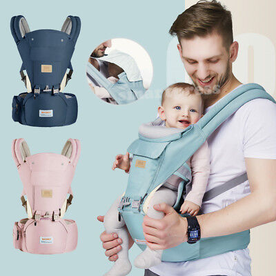 AU42.95 • Buy Ergonomic Infant Baby Carrier With Hip Seat Stool Adjustable Wrap Sling Backpack