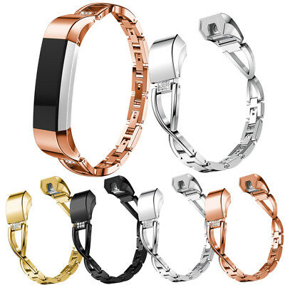 AU6.99 • Buy For Fitbit Charge 2 / HR/Charge 3 Bling Metal Wrist Band Wristband Watch Strap