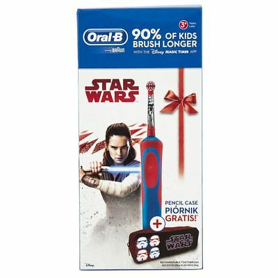 AU30.97 • Buy Oral-B Vitality STAR WARS Childrens Electric Toothbrush & Pencil Case Light Side