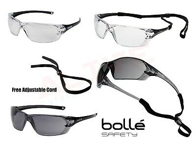 £9.99 • Buy Bolle PRISM Safety Glasses Cycling Sports Spectacles Anti-Scratch Anti-Fog Lens