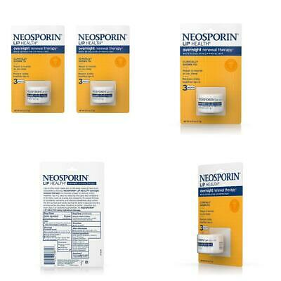 £11.37 • Buy Neosporin Lip Health Overnight Healthy Lips Renewal 0.27 Ounce (Pack Of 2)