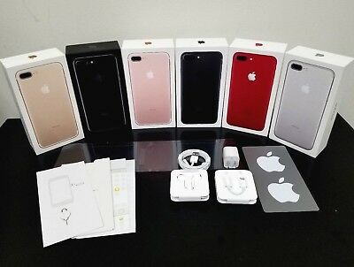 AU41.27 • Buy IPhone 7 7+ Plus Original Box With All OEM Accessories Earpods Adapter Charger