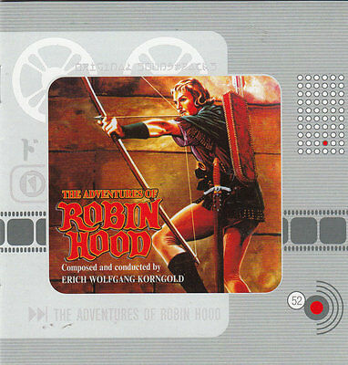The Adventures Of Robin Hood-1938- Soundtrack-20 Tr-CD • 27.45£