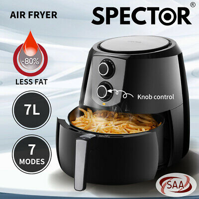 AU99.99 • Buy 7L Spector Air Fryer Healthy Cooker Deep Fryers Oven Oil Free Low Fat Kitchen