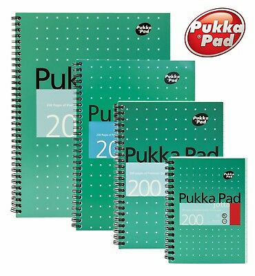 £4.40 • Buy Pukka Pad Metallic Jotta Notebook 200 Pages 80gsm Buy More Save More - All Sizes